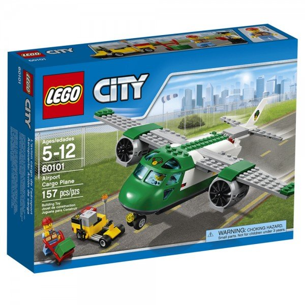 لگو سری City مدل  Airport Cargo Plane 60101