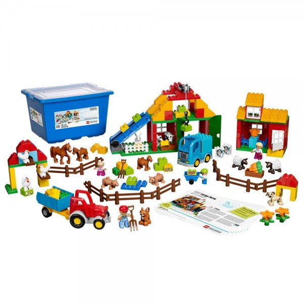 لگو آموزشی مزرعه بزرگ Large Farm Set 45007
