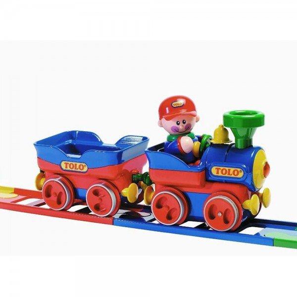 اسباب بازی قطار ساده تولو tolo مدل 89905