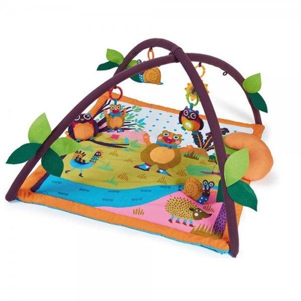فرش بازی کودک طرح جنگل oopsکد1400110