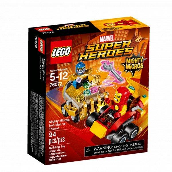 لگو مدل Mighty Micros Iron Man vs Thanos 76072