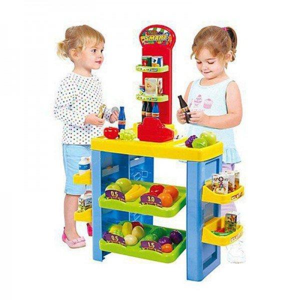 سوپر مارکت 54 تکه کودک playgo کد 3247