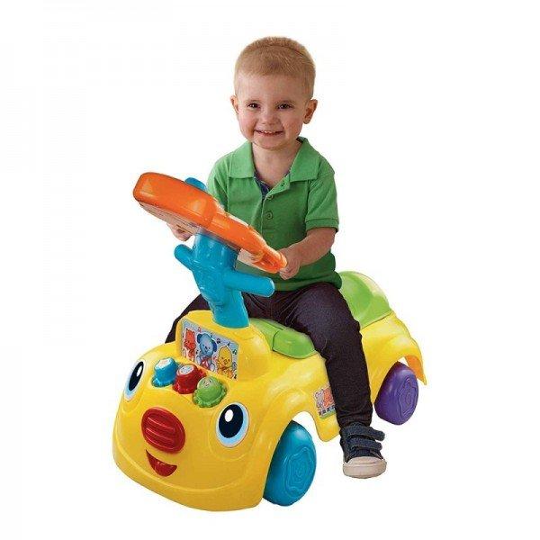 راکر دو کاره هوش و سرگرمی وی تک مدل  Sit Discover Ride On vtech 157903