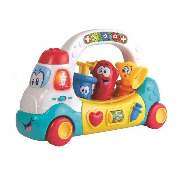 اسباب بازی موزیکال کودک طرح ست پزشکی little learner 4506