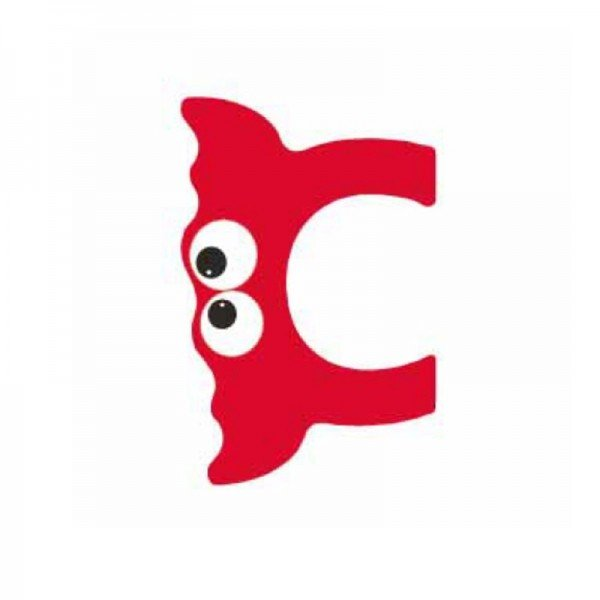 حرف C چوبی classic world 4405