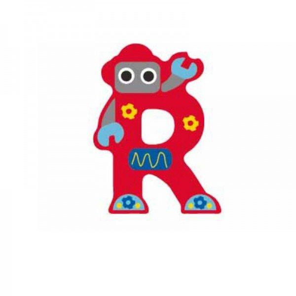 حرف R چوبی classic world 4420