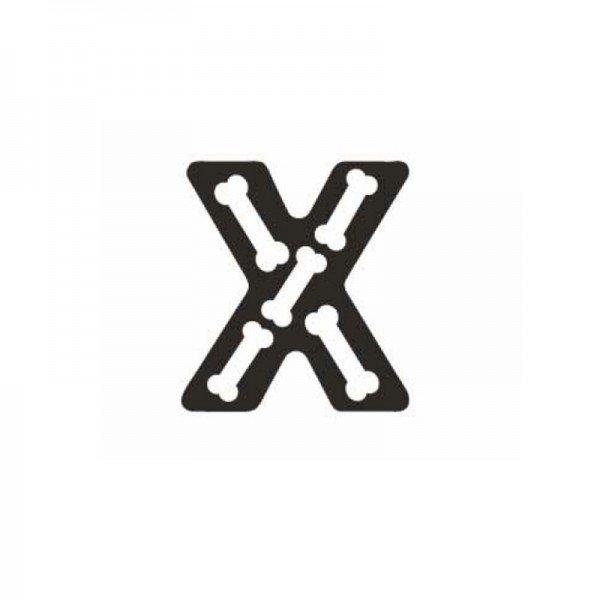 حرف X چوبی classic world 4426
