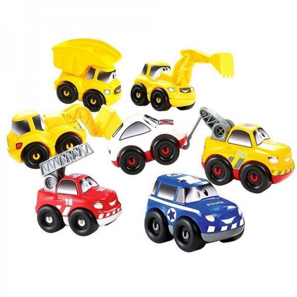 ست 7 عددی ماشین  ecoiffier 3239