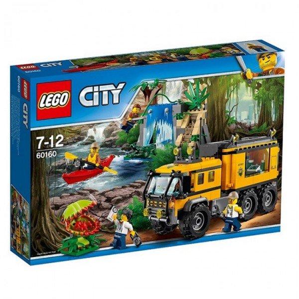لگو  Jungle Mobile Lab lego 60160