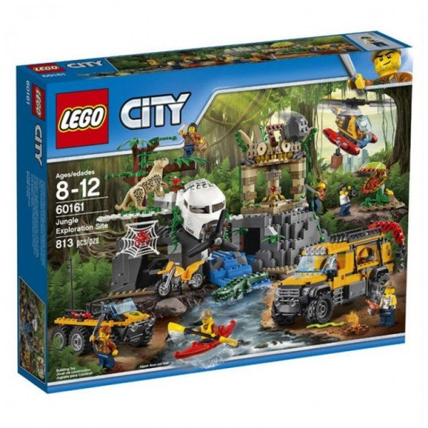 لگو  Jungle Exploration Site lego 60161