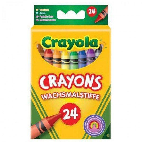 پاستل 24 عددی کودک  24crayons 0024 crayola
