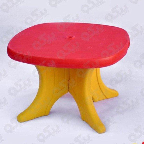میز کودک  وانیا قرمز زرد کد101