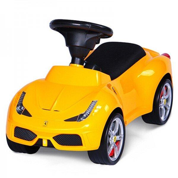 ماشین پایی فراری 458 زرد rastar 83500