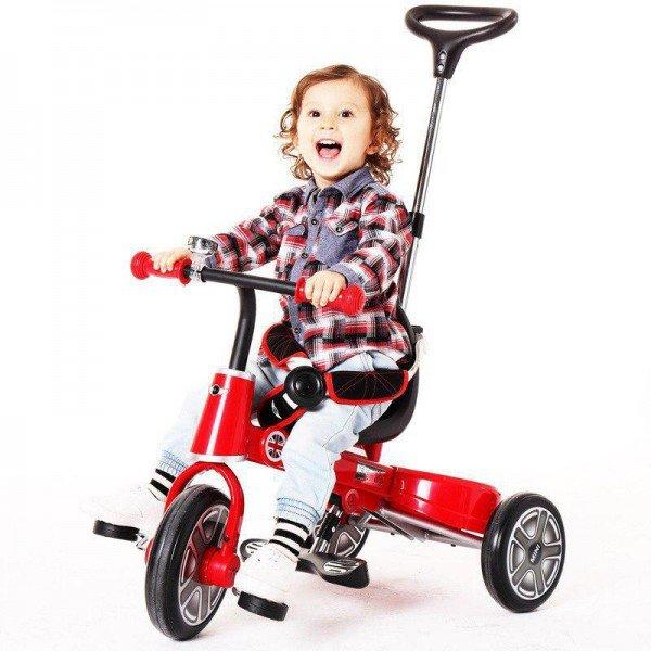 سه چرخه کودک تاشو قرمز rastar 3003
