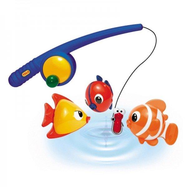 قلاب ماهیگیری با سه عدد ماهی tolo مدل 89536
