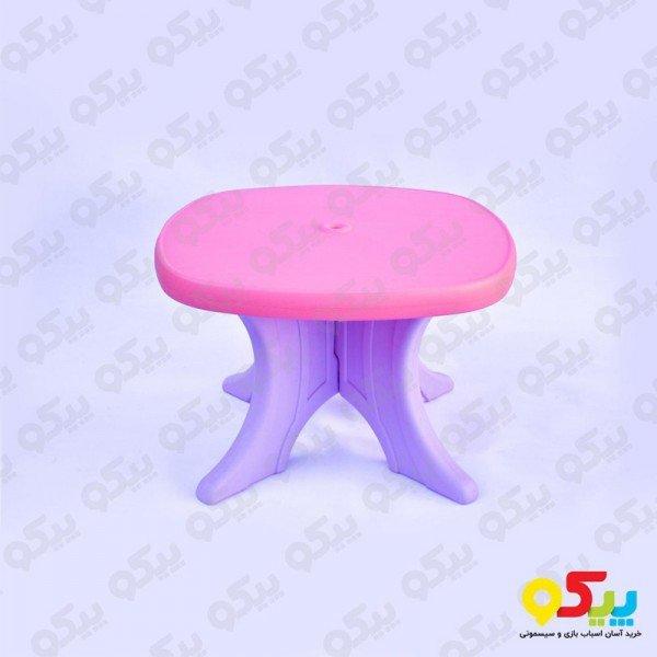 میز کودک وانیا صورتی یاسی کد 101