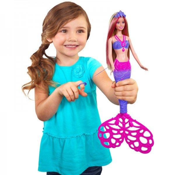 عروسک پری دریائی barbie cff49