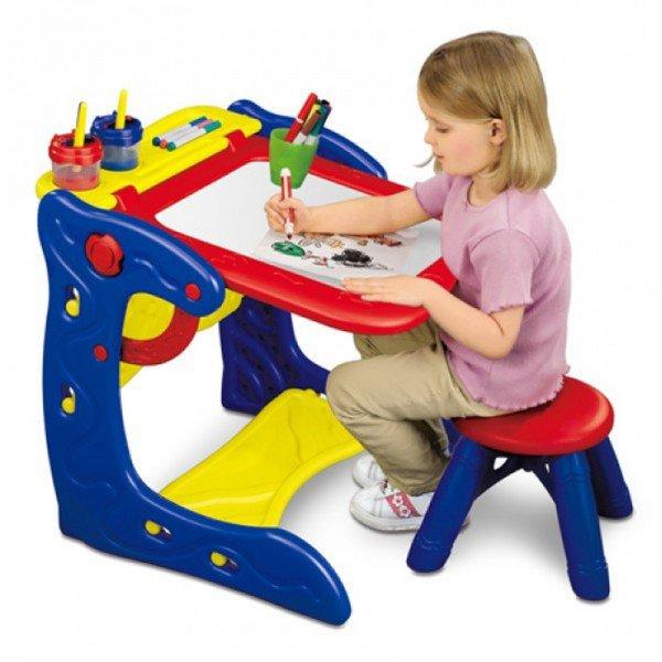 میز و تخته نقاشی کودک  crayola 5029