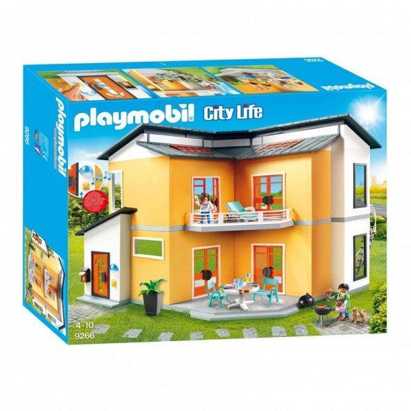 پلی موبيل مدل modern house playmobil 9266