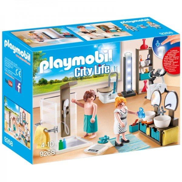 پلی موبيل مدل bathroom playmobil 9268