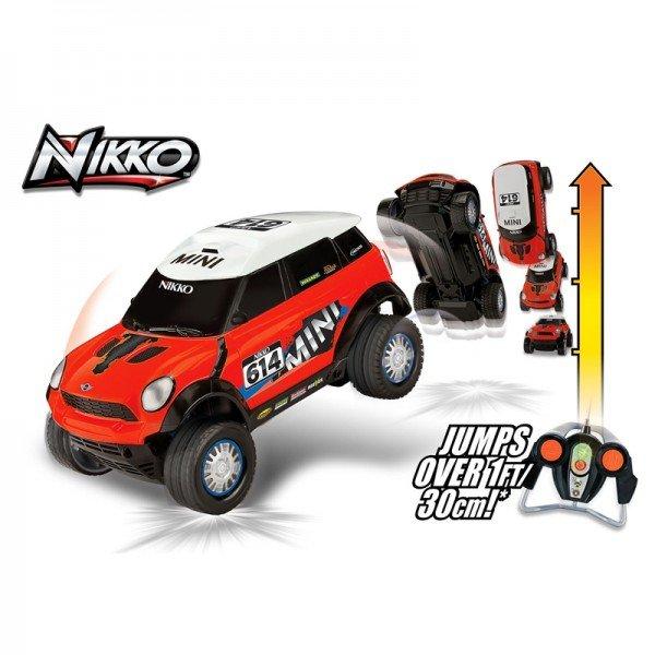 ماشین کنترلی پرشی high jump rc r60 mini nikko 94160