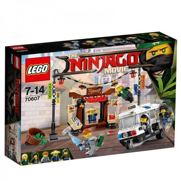 لگو NINJAGO City Chase  lego 70607