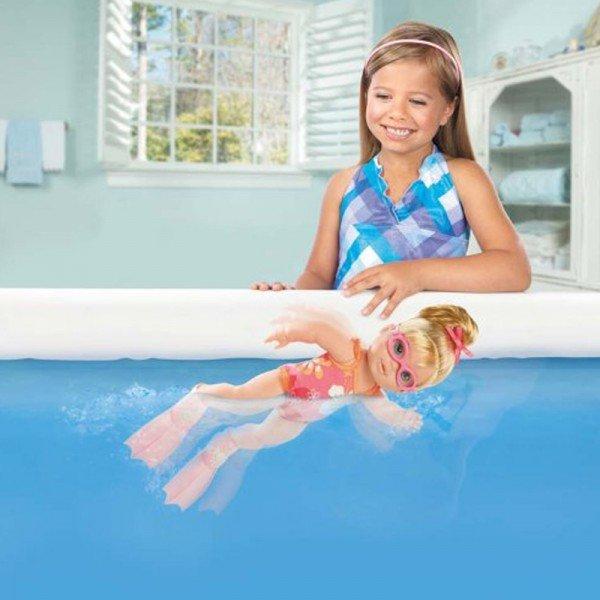 عروسک شناگر بی بی بورن My Little doll I can Swim baby born 818725