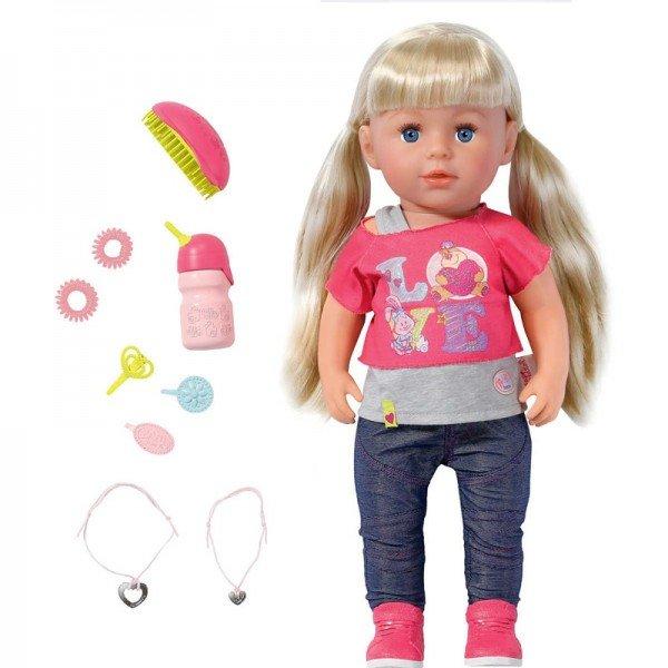 عروسک خواهر کوچولوی بی بی بورن doll sister baby born 820704