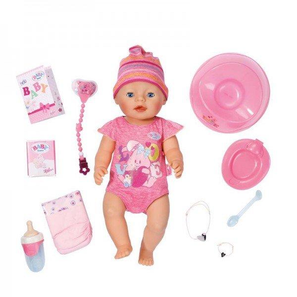 عروسک مغز بادام بی بی بورن DOLL CORE baby born 822005