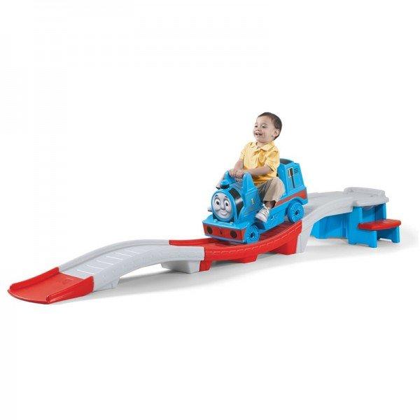 سطح شيبدار مدل ترن هوایی و قطار توماس step2 736600