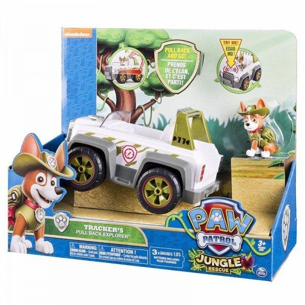 ماشین پاوپاترول موزیکال تراکر pawpatrol trackers jungle 6032987