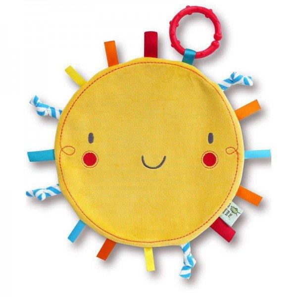 دستمال خواب خورشید با دندان گیر Sunshine Comforter little bird 3063
