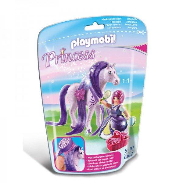 PLAYMOBIL Princess Viola with Horse کد 6167