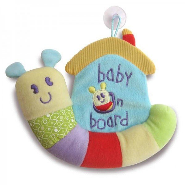 عروسک baby on boardکد3019