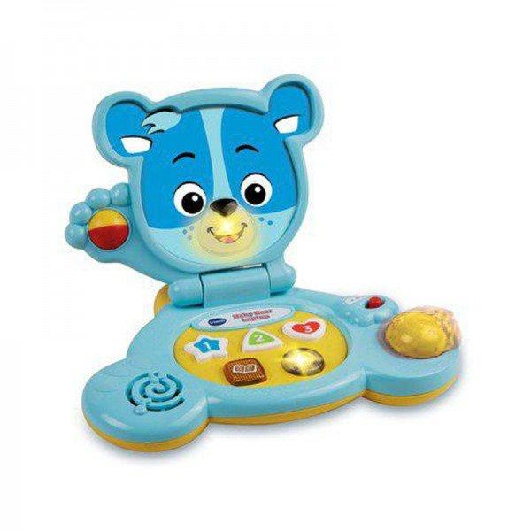 لپ تاپ آموزشی،هوش و سرگرمی خرسی وی تک مدل  Baby bear Laptop vtech 144703