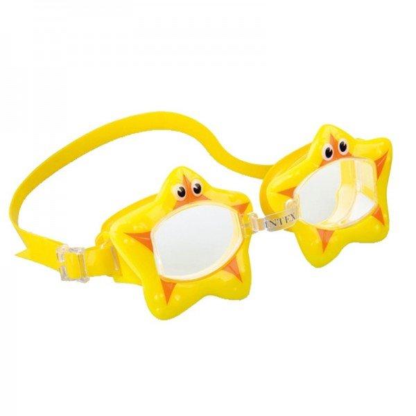عینک شنا ستاره زرد intex 55603