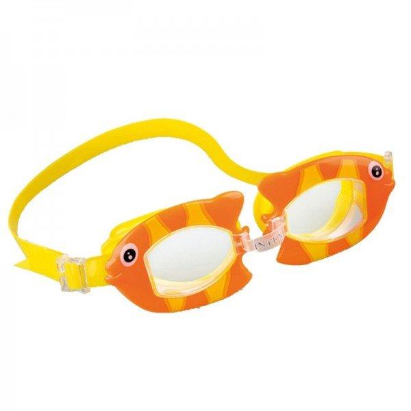 عینک شنا ماهی نارنجی intex 55603