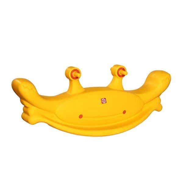 الاکلنگ کودک  طرح خرچنگ 5016 رنگ زرد