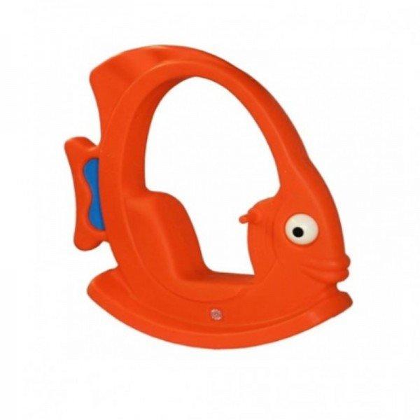 الاکلنگ کودک طرح ماهی سقف دار نارنجی 5002