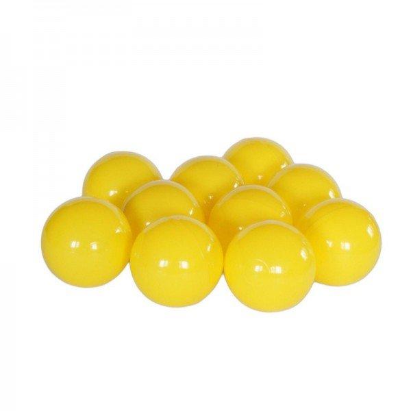 توپ زرد استخر توپ کودک بسته 1000تایی مدل 005