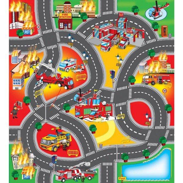 فرش بازی آتش نشانی کد 019A3B
