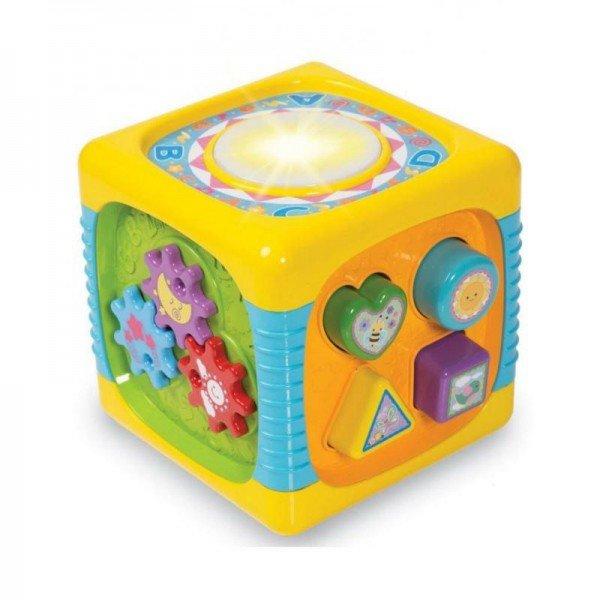 اسباب بازی موزیکال مکعب هوش کودک مدل  winfun 00741