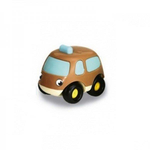 ماشین عقب کش کوچک و ضد ضربه قهوه ای smoby 750030