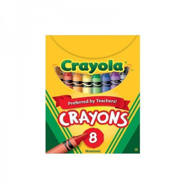 پاستل 8 عددی crayola 3008