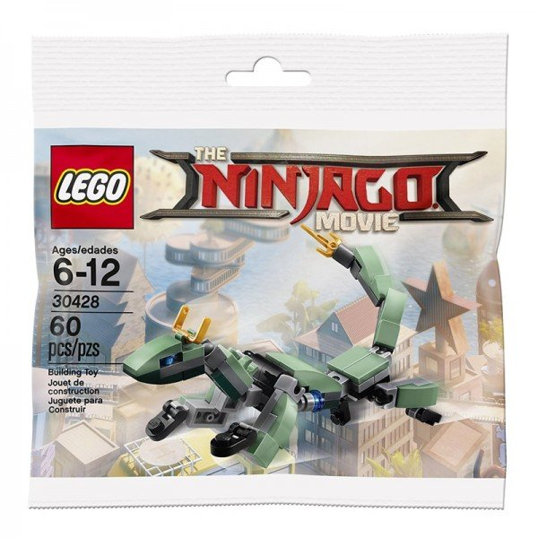 لگو نینجا و اژدهای سبز ninjago lego 30428