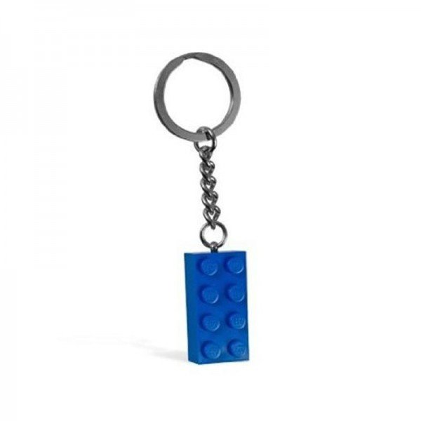 جا کلیدی لگو KeyChain 2x4 stud blue lego 850152