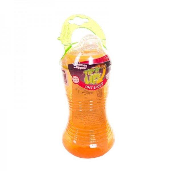 قمقمه نارنجی ضد چکه با درب 400 میلی tommee tippee 44610210