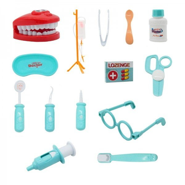 لوازم دندانپزشکی 14 تکه مدل 8021