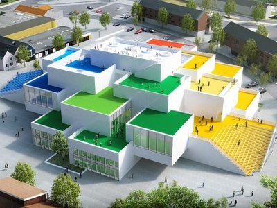 آشنایی با خانه لگو ، بیلوند دانمارک  Lego House