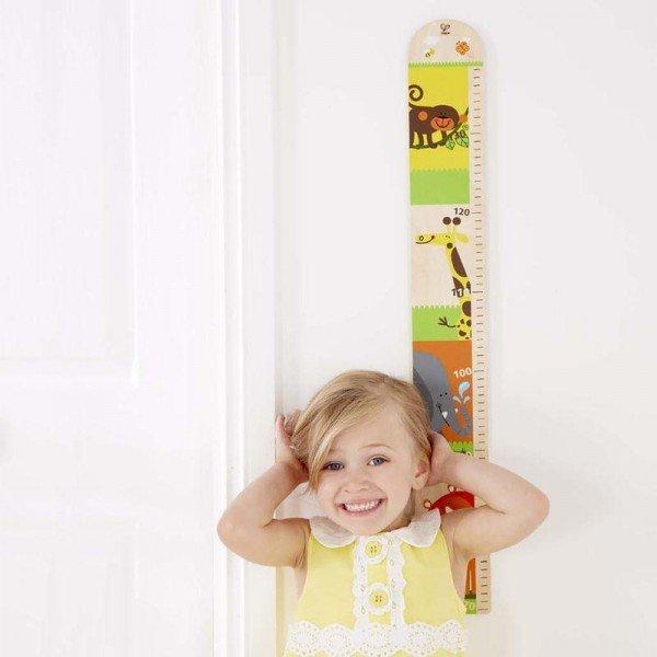 چارت اندازه گیری قد کودک hape 0037